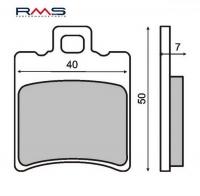 Plocice kocnica RMS Aprilia 125-150 prednje