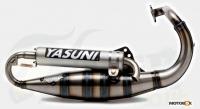 Auspuh Yasuni Scooter R Peugeot vertikal alu top