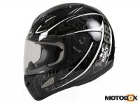 Kaciga S6 Urban black/silver M