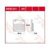 Plocice kocnica TRW MCB531Organic