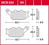 Plocice kocnica TRW MCB634SH sinter