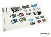 Nalepnice set SA 23 stickers