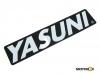 Nalepnica Yasuni 110x25 mm