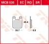 Plocice kocnica TRW MCB535EC (ORGANIC)